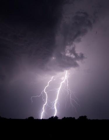 Northwest Oklahoma Lightning