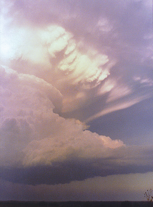 Southwest Oklahoma supercell - 1985