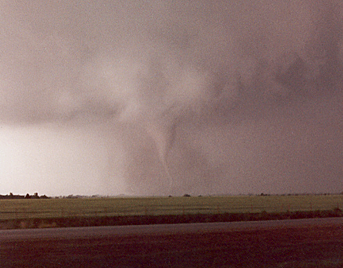 Rope stage of the Enid tornado.
