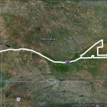 June 14 Chase Route.