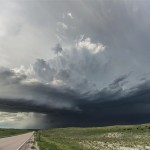 Second supercell of the day - just north of Arthur, Nebraska.
