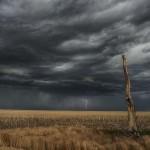 Southwest of Woodrow, Colorado.